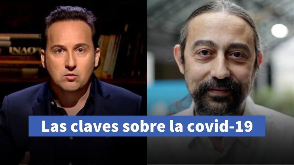 Iker Jiménez y el doctor García-Sastre