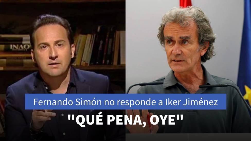 Iker Jiménez y Fernando Simón