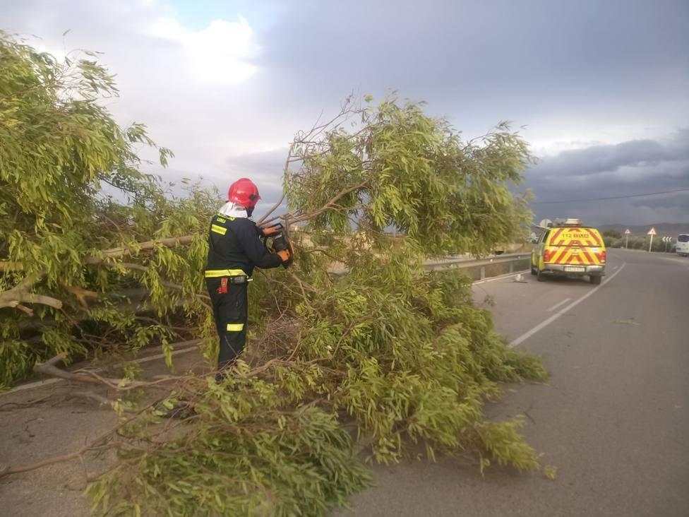 Lorca fue el segundo municipio más afectado de la Región por el temporal de viento