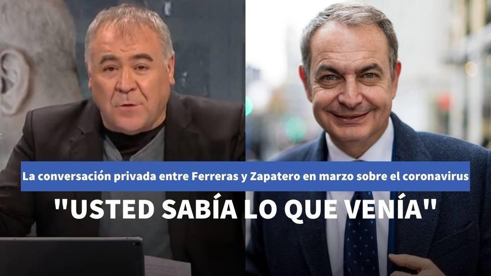 García Ferreras y Zapatero