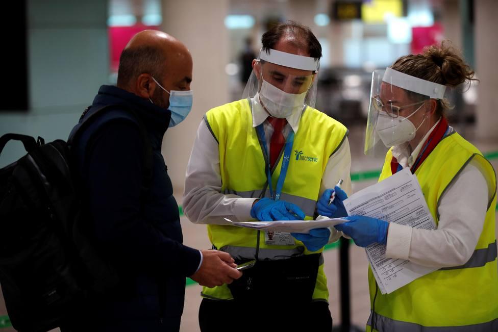 Radiografía de los casos importados de COVID en España