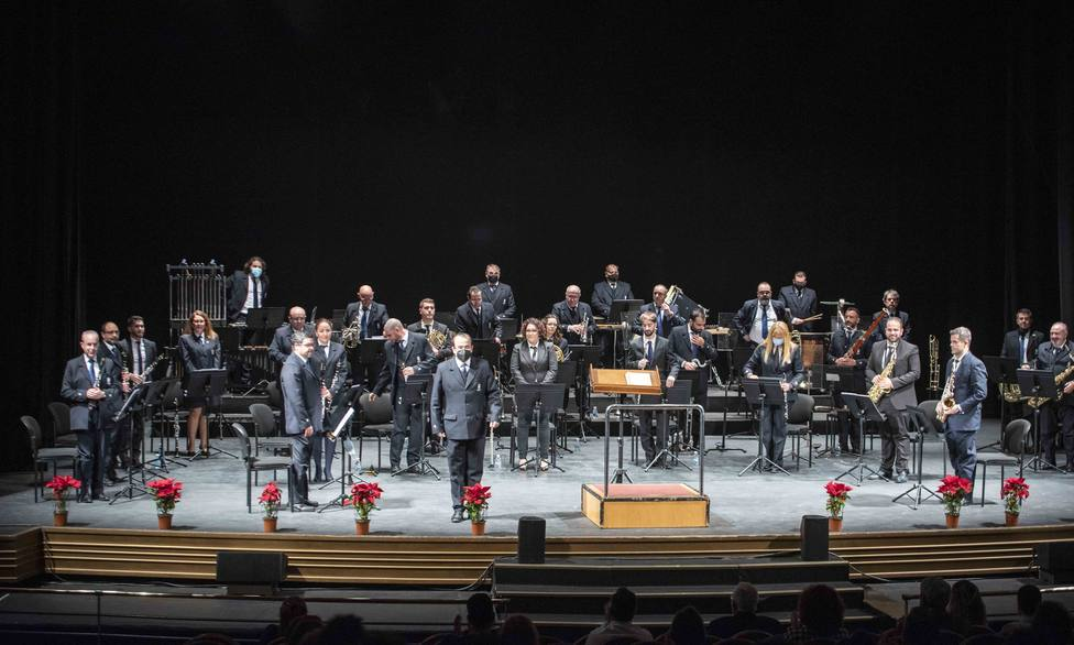 El Auditorio recibe este jueves un nuevo concierto gratuito de la Banda Municipal de Música de Almería
