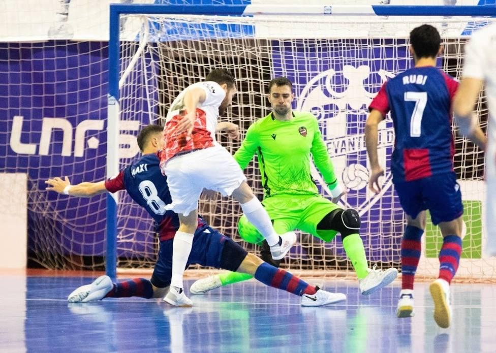 Injusta derrota de ElPozo Murcia Costa Cálida ante el líder Levante (4-2)