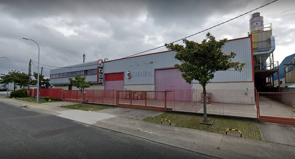 Exterior de la empresa Gabadi en el polígono de Río do Pozo