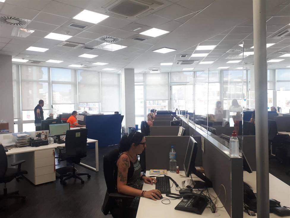 El Servicio Local de Teleasistencia de Barcelona - Europa Press - Archivo