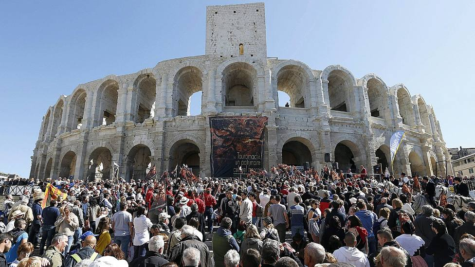 Coliseo de Arles (Francia)