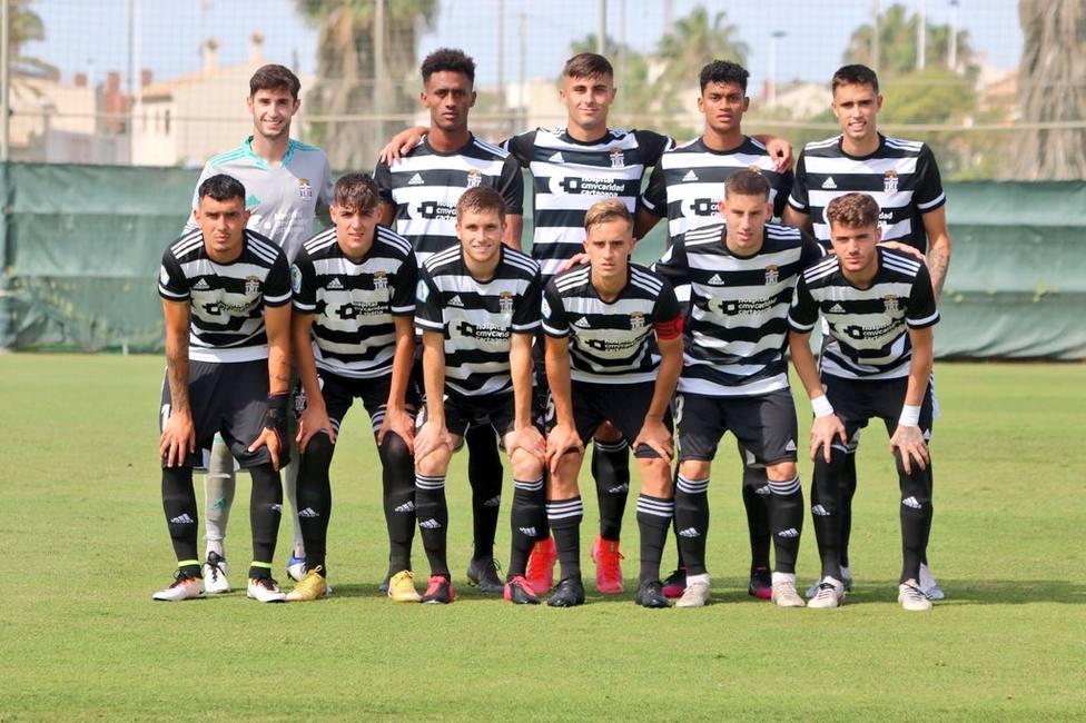 El Cartagena B jugará la final por el ascenso al empatar contra el Racing Murcia (1-1)