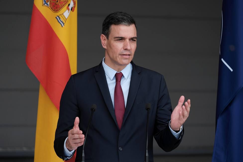 Spanish Prime Minister Pedro Sanchez visits Lithuania