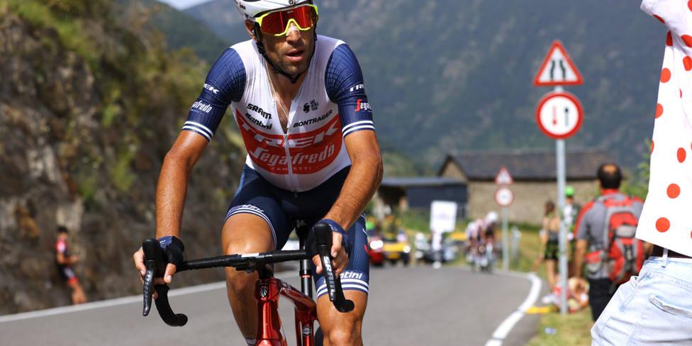 Vincenzo Nibali, del Trek-Segafredo, en el Tour de Francia.
