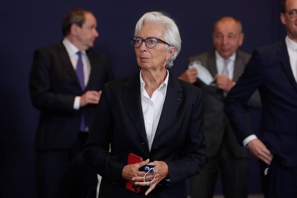 Christine Lagarde, presidenta del Banco Central Europeo