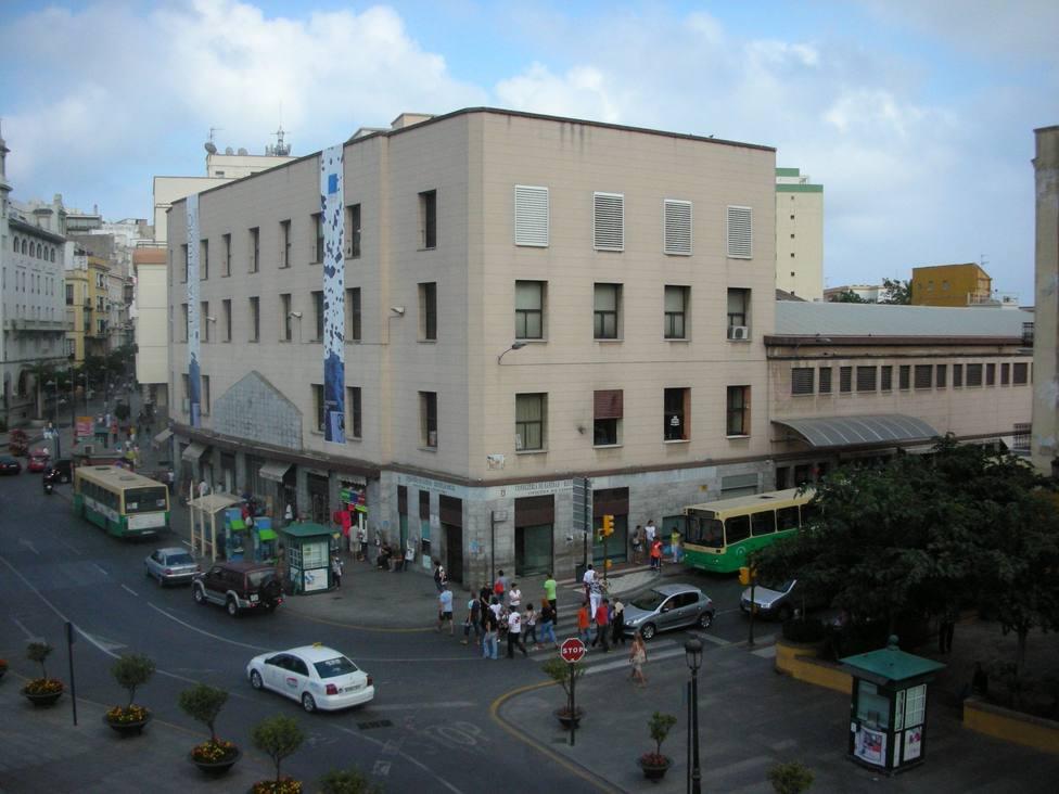 Una calle de Ceuta