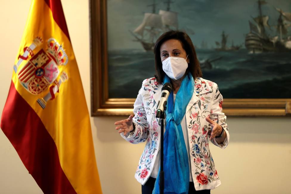 Robles se desmarca de Laya y limita al Ministerio de Exteriores la gestión de la entrada de Ghali en España
