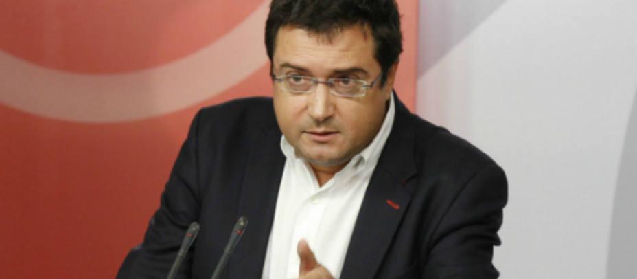 Óscar López, portavoz del PSOE en el Senado. PSOE.