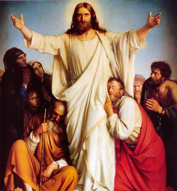 Cristo Resucitado con los Once