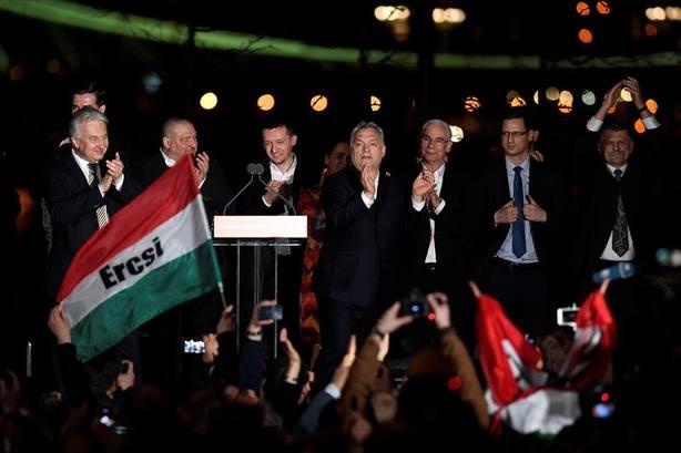 Orbán centró su campaña electoral en un único mensaje: proteger a Hungría de la inmigración