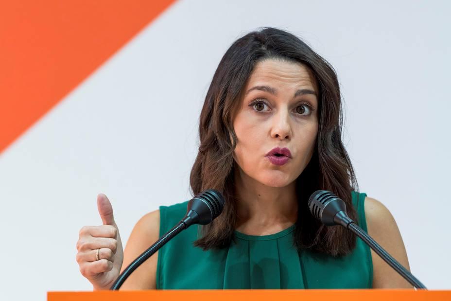 Reunión Inés Arrimadas y Juan Marín con candidatos de Cs de las provincias andaluzas a las elecciones autonómicas
