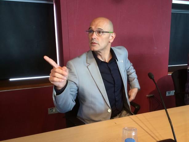 Romeva afirma que las penas que pide Fiscalía son una represalia hacia una ideología