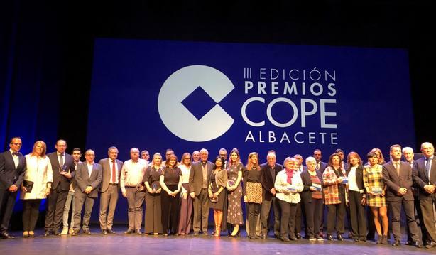 Gala de entrega III Premios COPE Albacete
