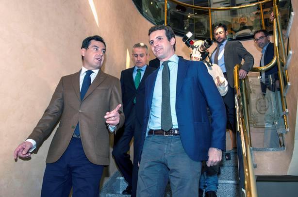 Pablo Casado: Las andaluzas son el primer paso para echar a los independentistas