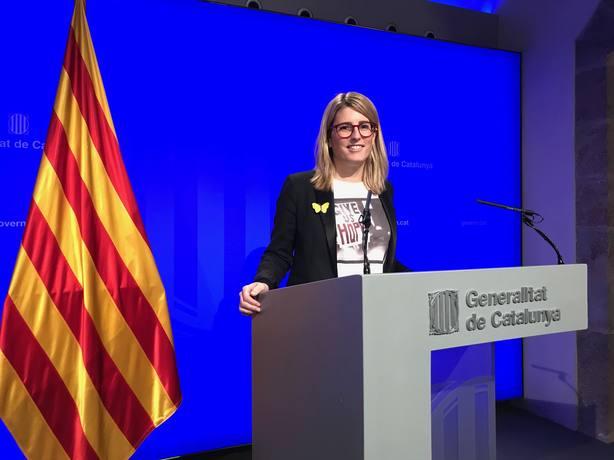 El Govern otorga la Medalla de Oro de la Generalitat a Carme Forcadell