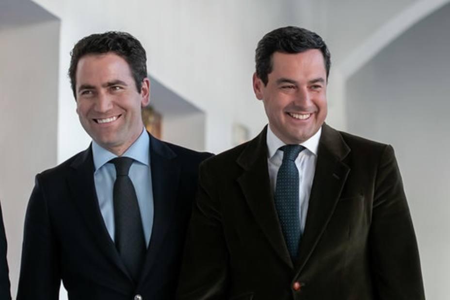 Moreno: Hoy se abre una nueva página en la historia de Andalucía tras casi 40 años de monopolio del PSOE-A