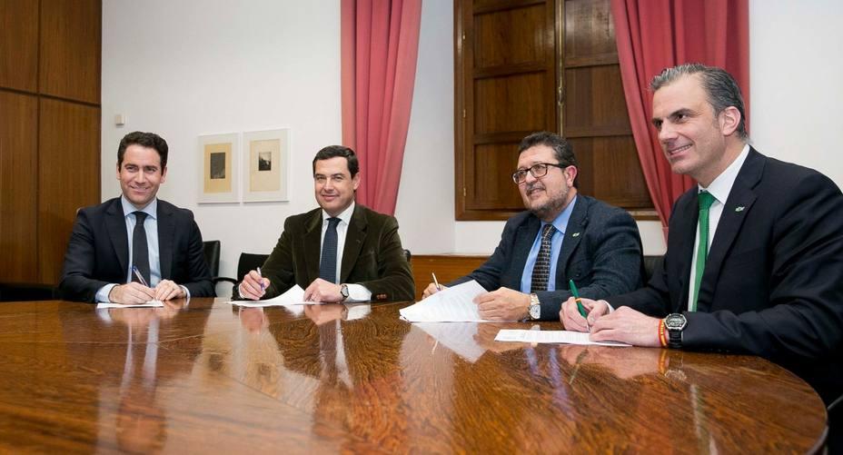 Ortega Smith avisa de que Cs provocará elecciones en Andalucía si torpedea el pacto de PP y Vox