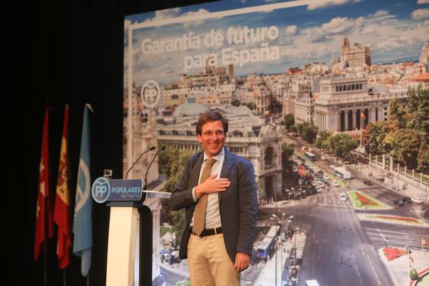 Almeida señala que la ilusión regresa al PP y se reivindica como alcalde con convicciones que hará más libre a Madrid