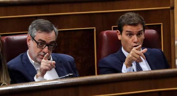 José Manuel Villegas y Albert Rivera