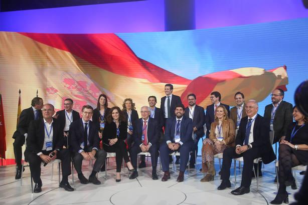 Casi todos los barones del PP irán con Casado a la concentración de Madrid, salvo Moreno, Feijóo y Alonso