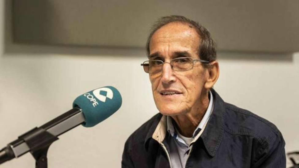 El misionero español Antonio César Fernández.