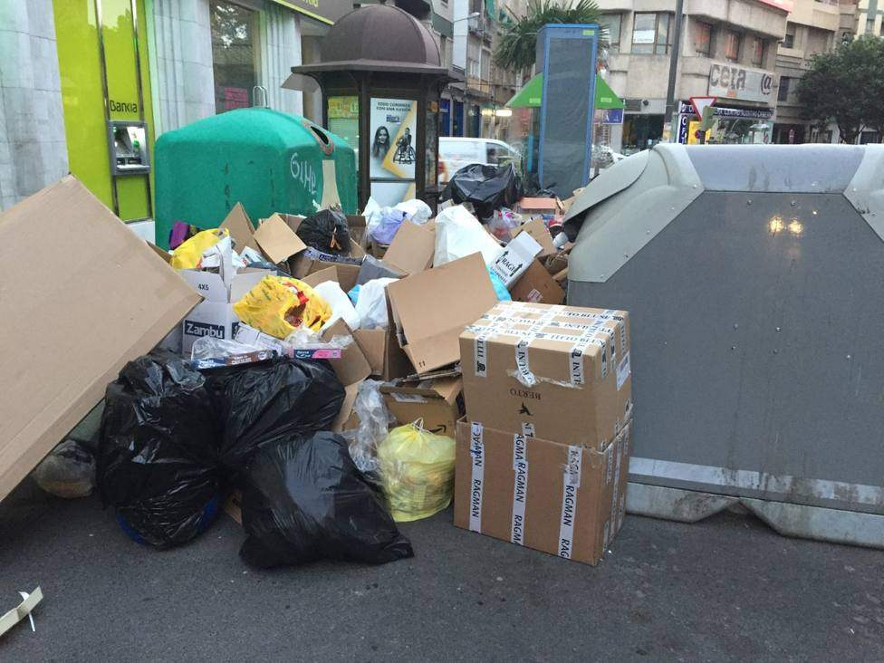 Huelga de basura