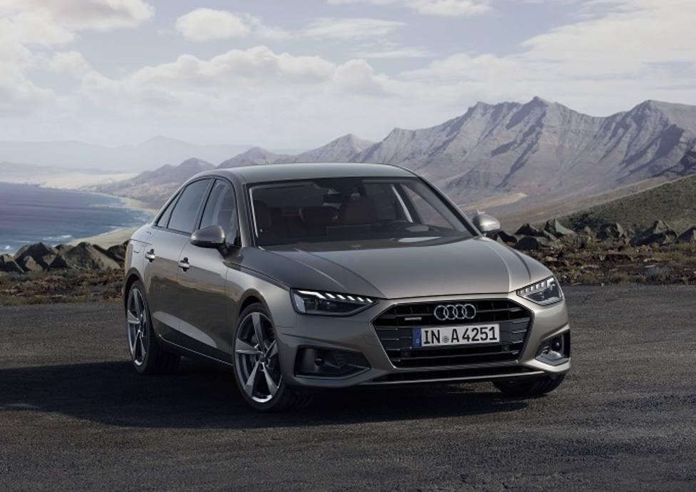 El nuevo Audi A4 llegará a España en otoño y estará disponible con hibridación suave