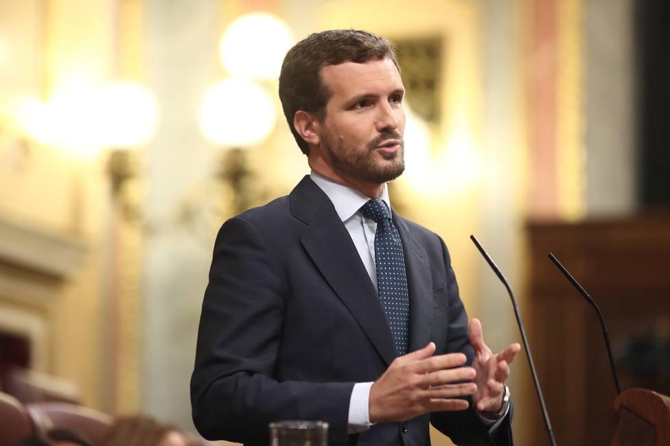 Casado ve claro que Sánchez quiere elecciones: Es el peor presidente de España y espero que sea el más breve