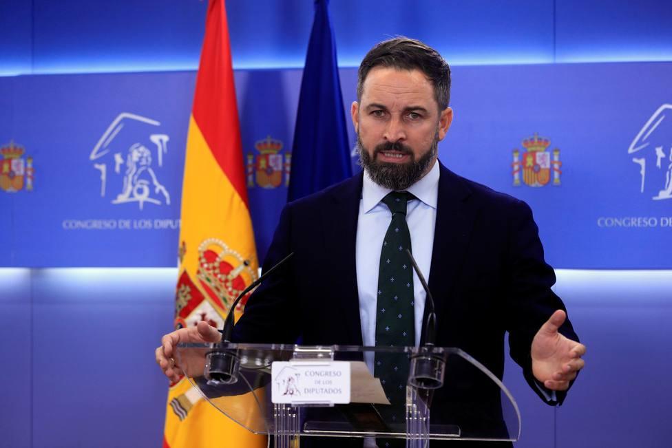 La dura respuesta de Santiago Abascal y Vox a la exhumación de Franco