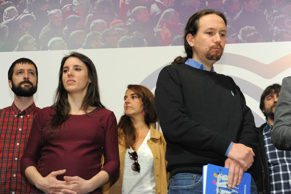 Iglesias, en El Hormiguero mientras Irene Montero inaugura la campaña de Unidas Podemos