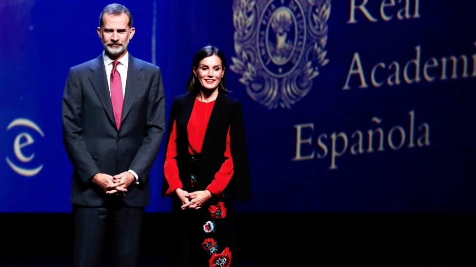 Los Reyes de España en el acto de clausura del XVI Congreso de la Asociación de Academias de la Lengua Español