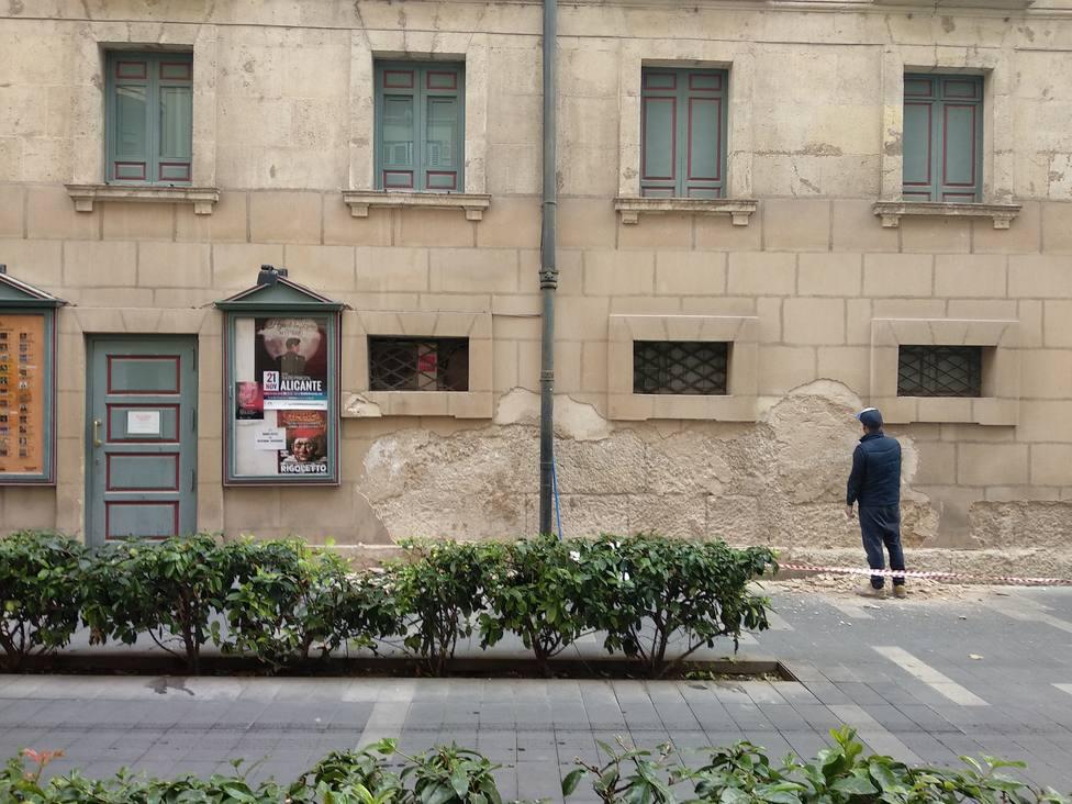 Fachada del Teatro Principal (Ayuntamiento)