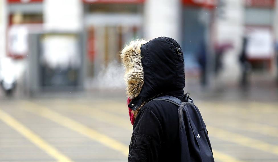 La sensación térmica en Logroño ha sido de -3.9 grados
