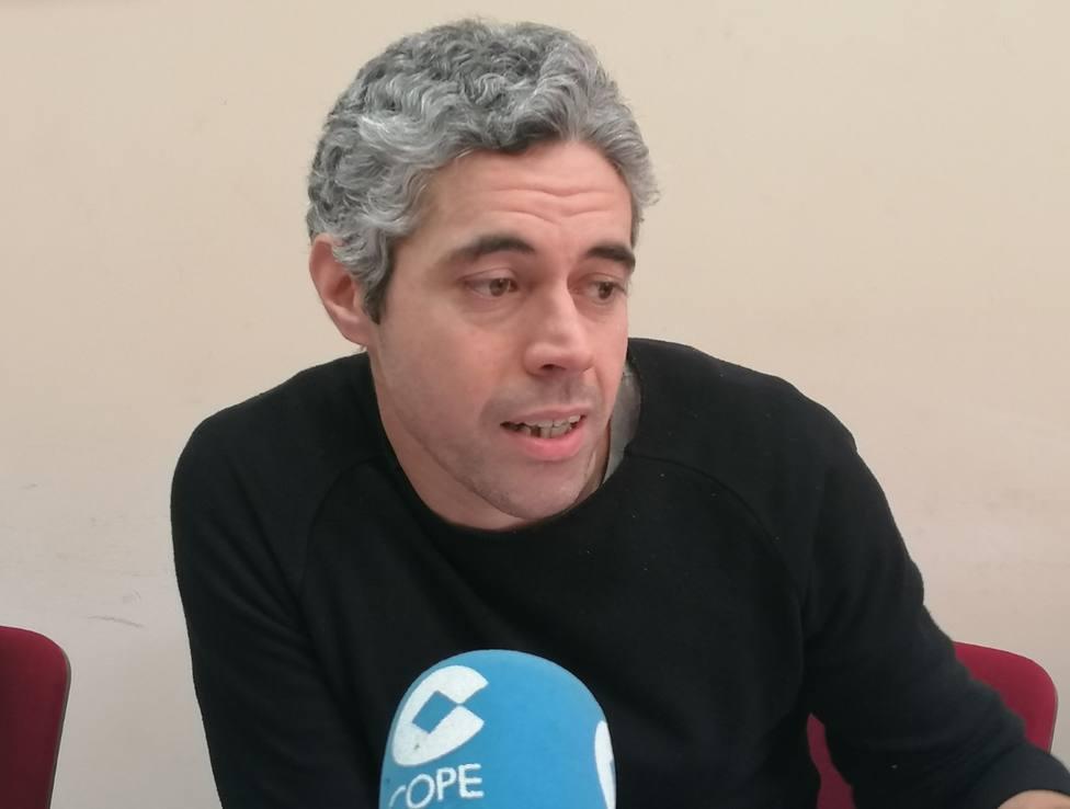 Iván Rivas, portavoz del grupo municipal del BNG en el Ayuntamiento de Ferrol