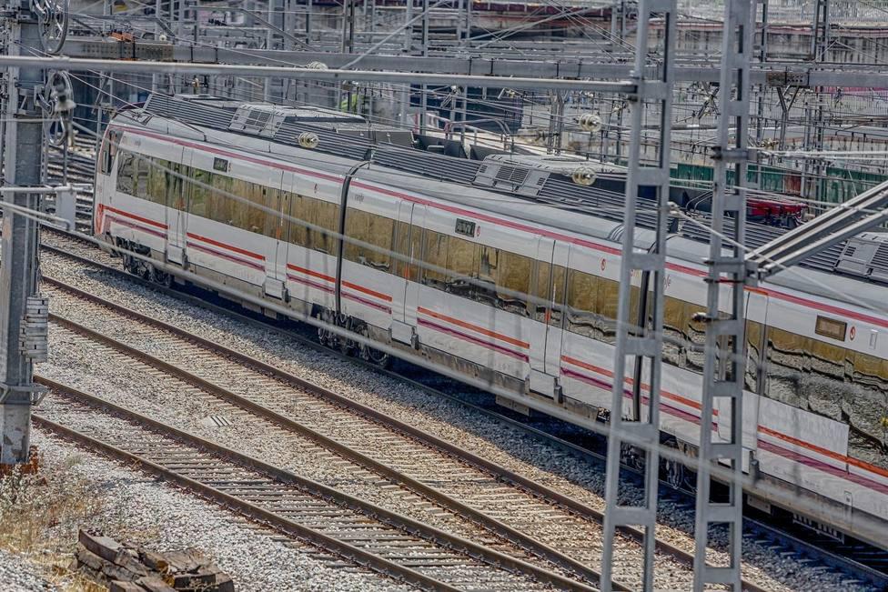 Imagen de archivo de un tren de RENFE