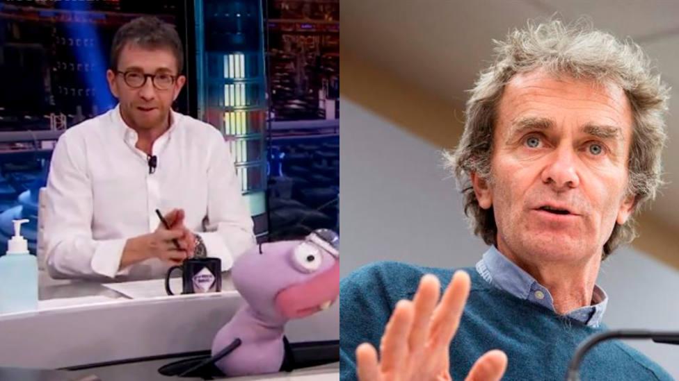 Pablo Motos vuelve a señalar a Fernando Simón por negar los PCR a los turistas