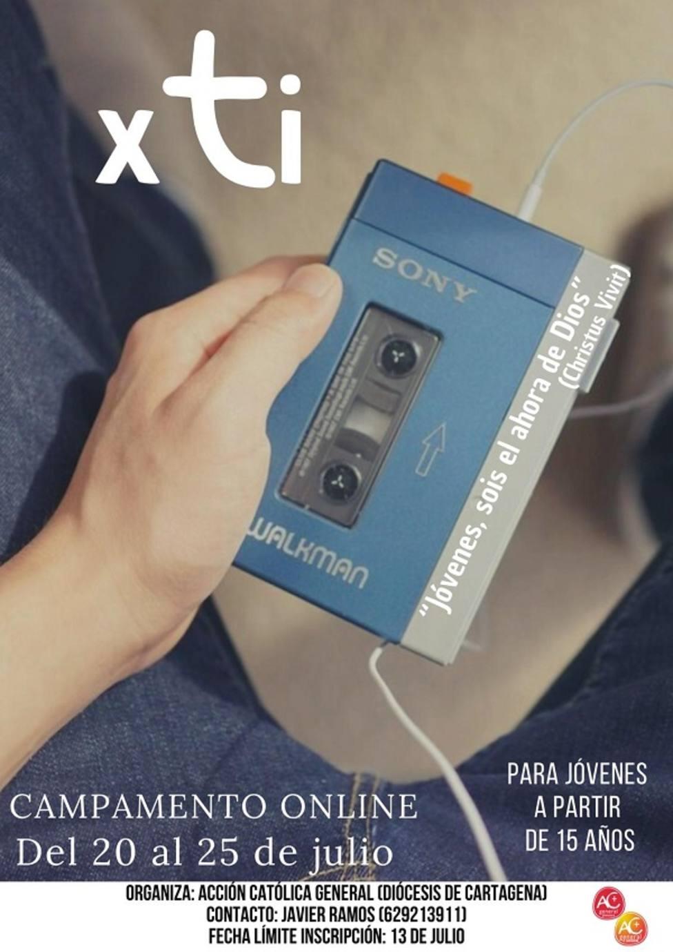 Acción Católica General ofrece un campamento online para jóvenes