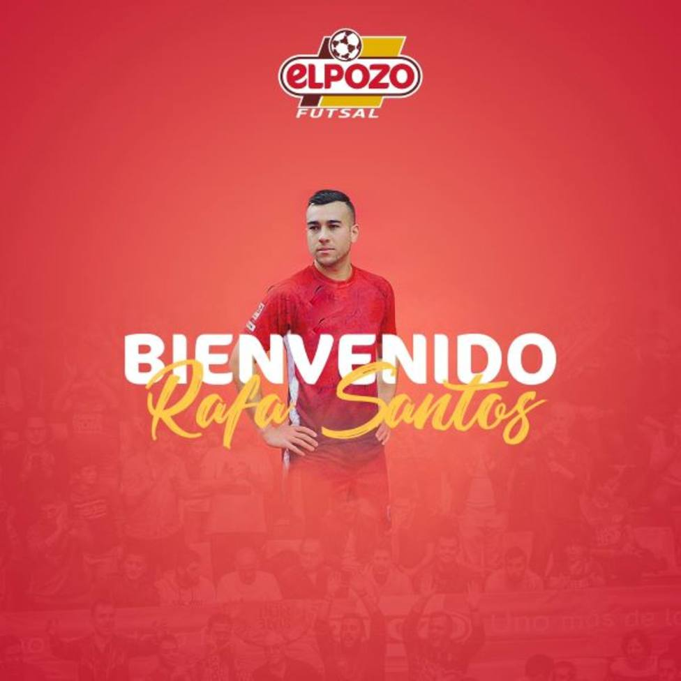 Rafa Santos, goleador brasileño para ElPozo Murcia Costa Cálida FS