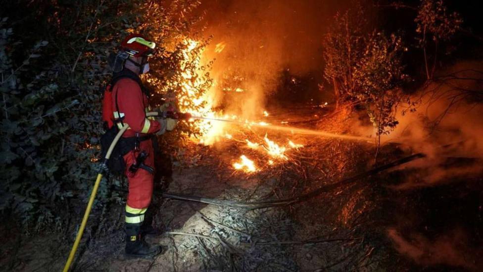 España arde