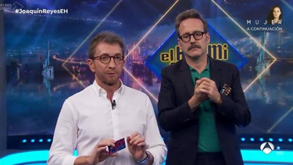 Pablo Motos y Joaquín Reyes en El Hormiguero (Antena 3)