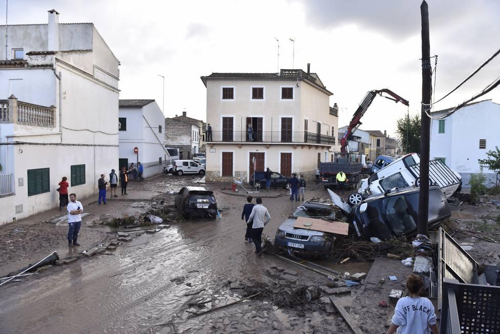 La riada de Mallorca 2018 acumuló un caudal similar al del Ebro