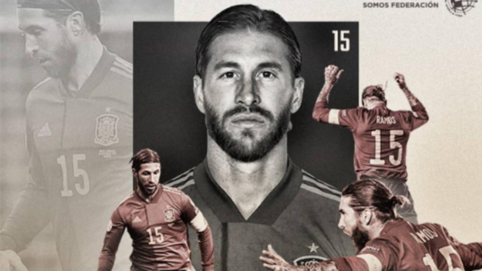 Sergio Ramos se convierte en el jugador con más minutos en la Selección