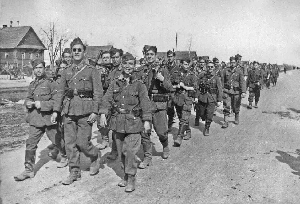 Volhov: la operación de la Guardia Civil que toma el nombre de una batalla de la División Azul