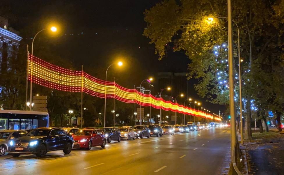 Así ha sido el encendido de luces de Navidad en Madrid