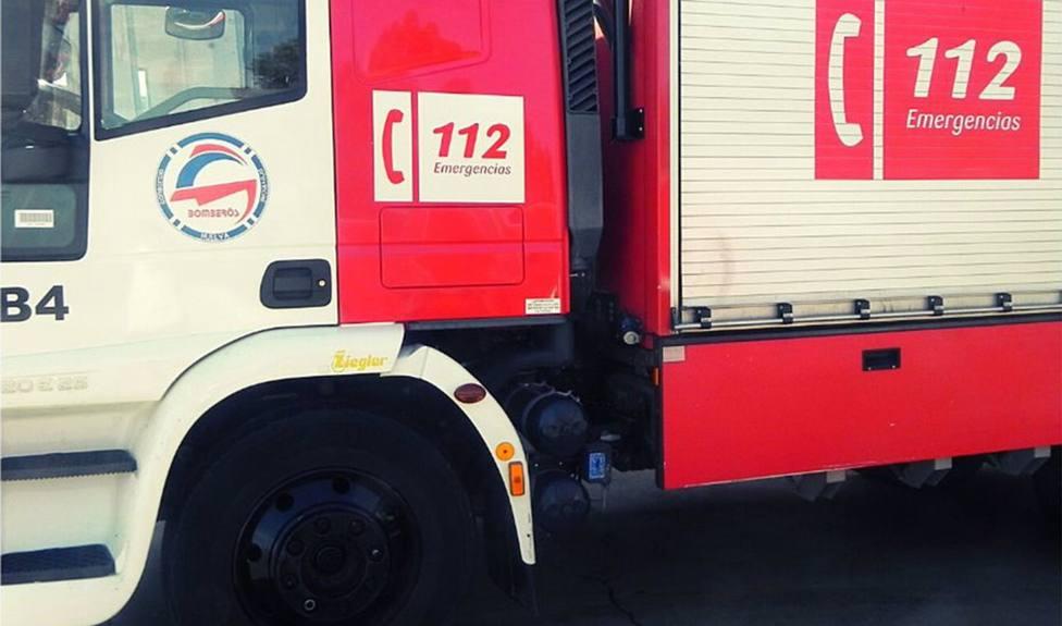 Camión del Consorcio de Bomberos de Huelva